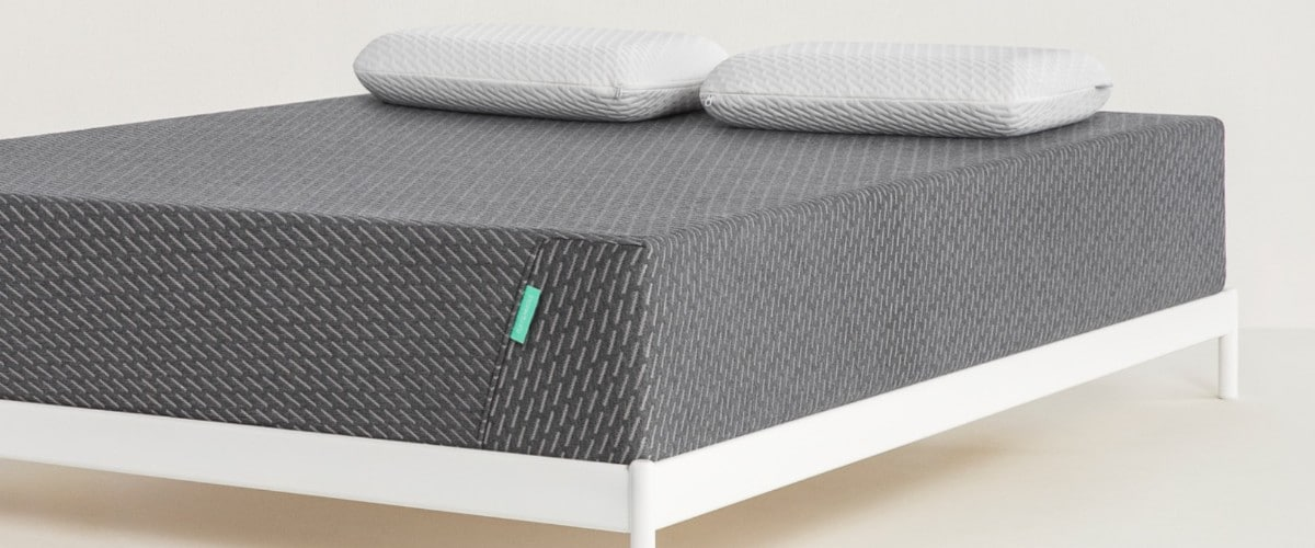Tuft & Needle Mint Mattress - foot view - Bed Tester