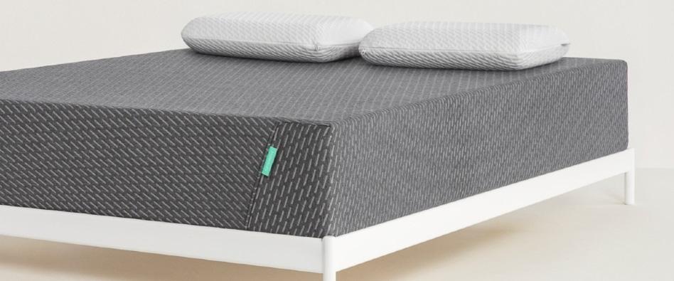 Tuft & Needle's Mint Mattress - with pillows - BedTester.com