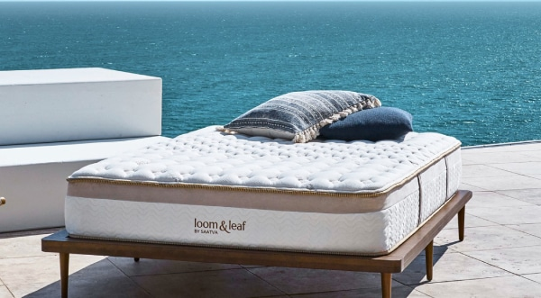 Best mattress for fibromyalgia - Loom & Leaf Mattress - outside - BedTester.com
