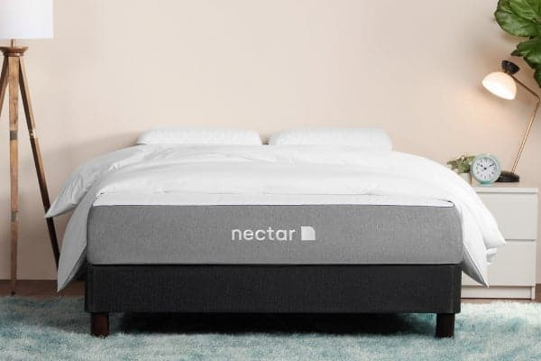 Best mattress for fibromyalgia - Nectar mattress in bedroom - BedTester.com