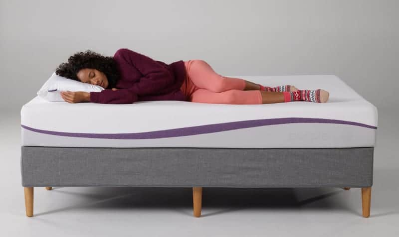 the new purple mattress reinvented vs puffy lux mattress review bedtester